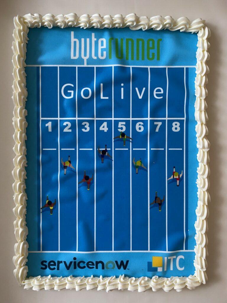 ServiceNow GoLive Cake